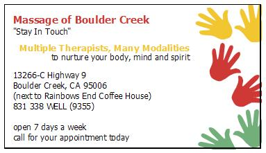 Massage of Boulder Creek